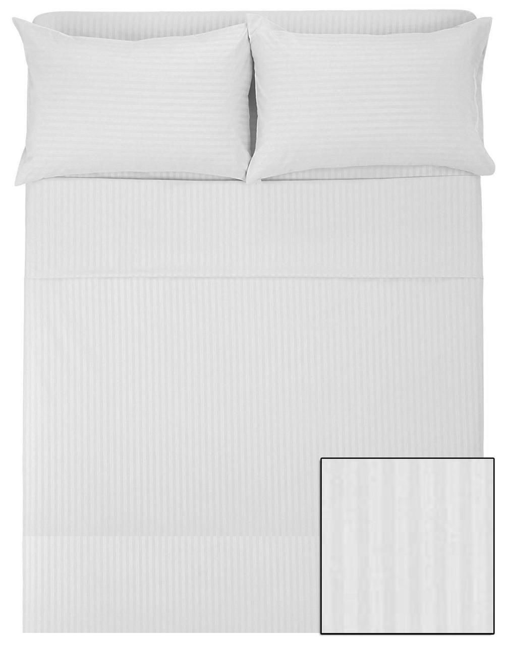 Двухспальный комплект HOTEL (САТИН-СТРАЙП, 100% хлопок)