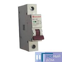 Автоматический выключатель 1P 32A EH-1.32