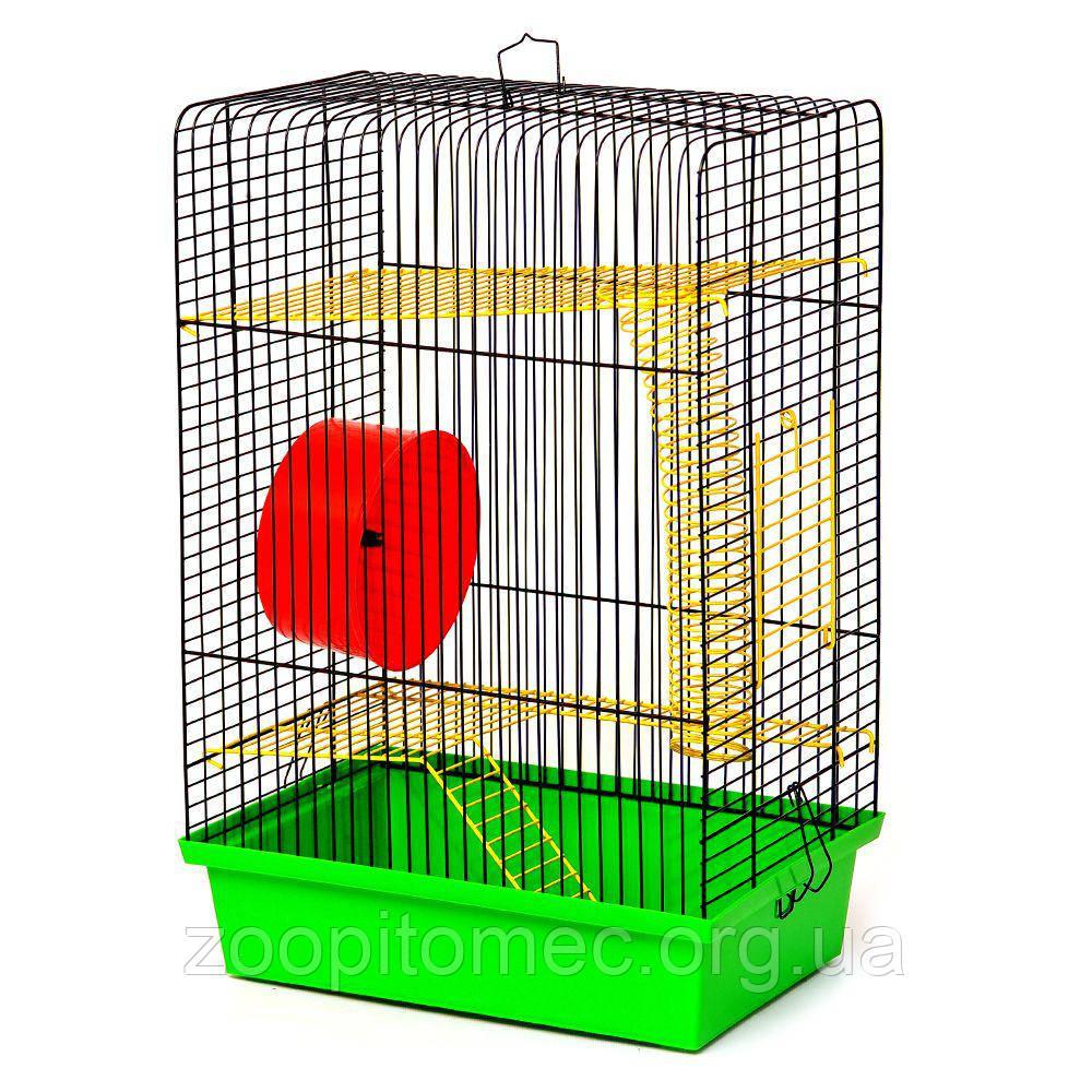 Клетка для хомячка ХОМЯК 4  ХОМ'ЯК 4, 33*23*50 см