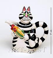 Фарфоровый сливочник Веселый кот Pavone Bs-18