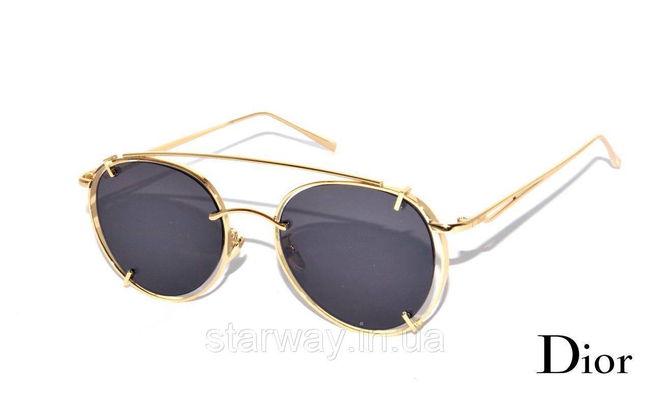Женские солнцезащитные очки Dior | Защита UV 400 | Топ