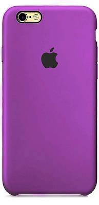 Чехол накладка xCase на iPhone 6/6s Silicone Case Purple