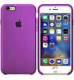 Чехол накладка xCase на iPhone 6/6s Silicone Case Purple, фото 2