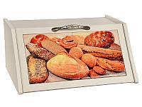 "Хлебница ""Хлеб"" 360х160х255, крем, Lefard, 072-100"