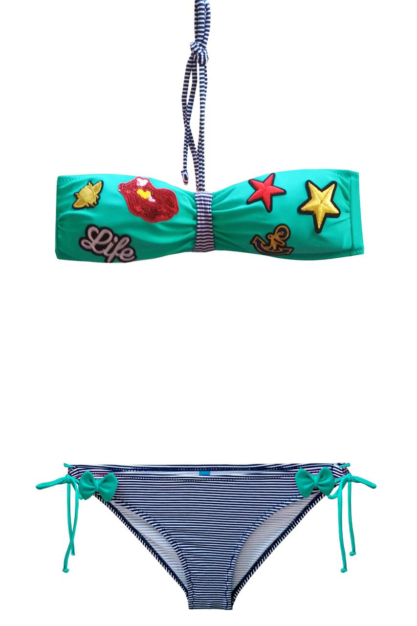 Пляжный детский купальник для девочек