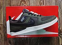 Кроссовки мужские кеды в стиле Nike Air хаки 3 цвета  (размеры в описании)