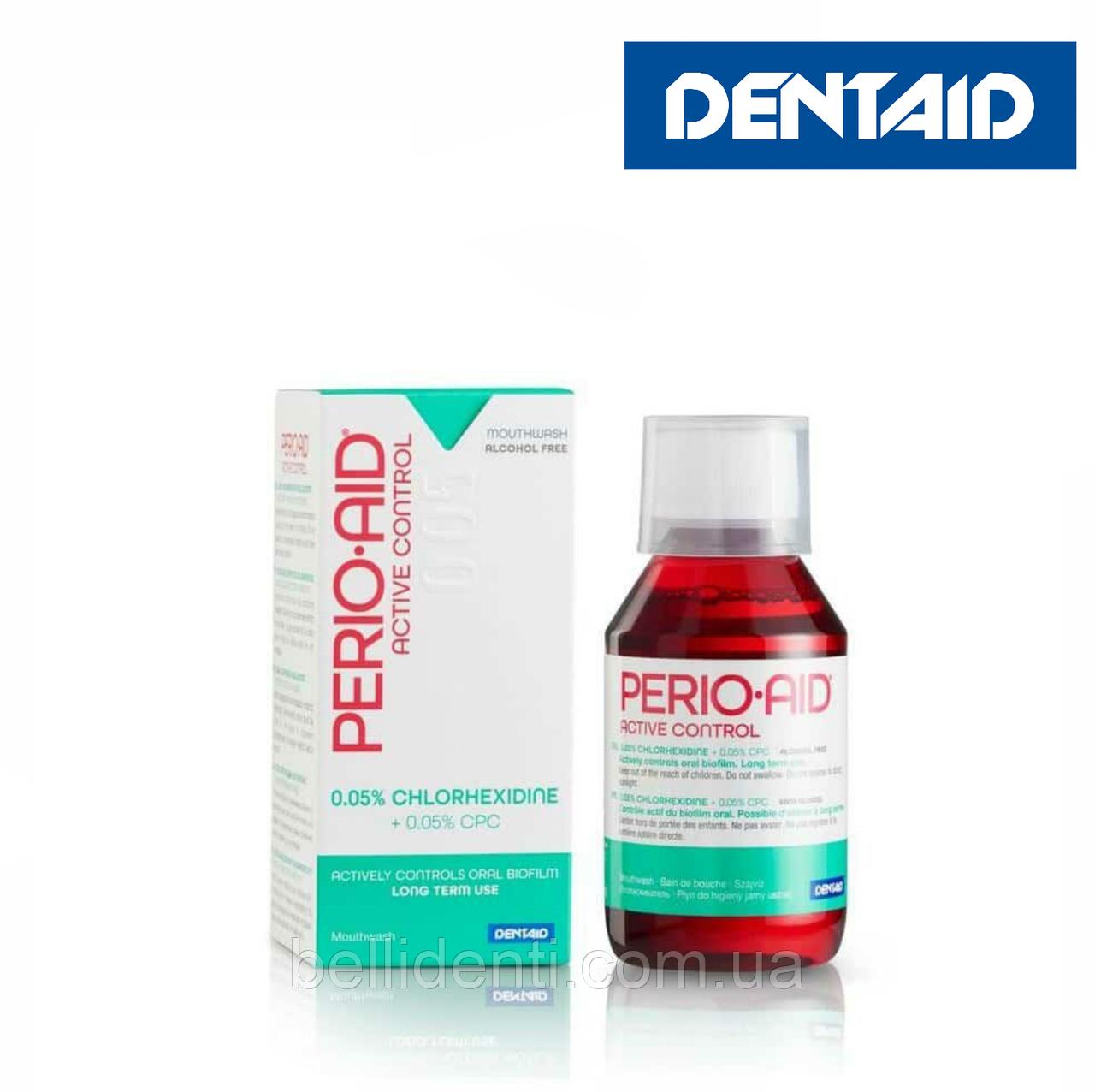 PERIO-AID 0.05% ACTIVE CONTROL ополаск., антисептическое, противовоспалительное действие, 150 мл
