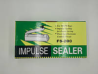 Запайщик пакетов и пленки ручной PFS-200 металлический корпус