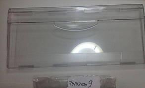Панель ящика Атлант прозрачная 215*470 для холодильника