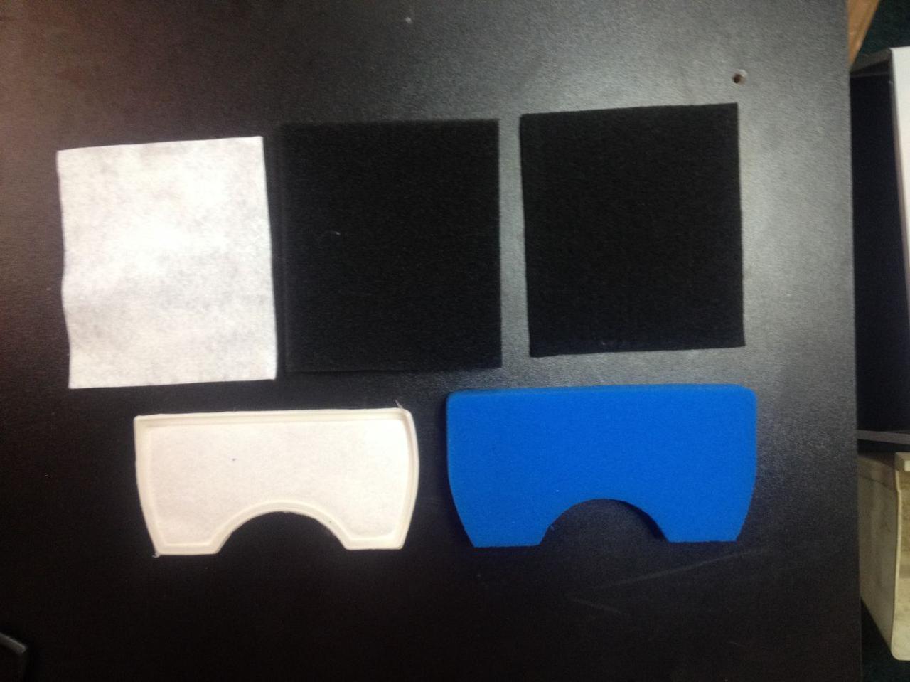 Фильтр внутренний (поролон) для пылесоса Samsung DJ97-01040C (not original)
