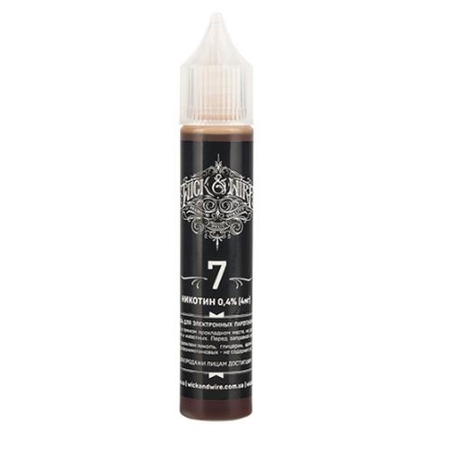 Wick&Wire 7 (Seven) 0 mg/ml (30 ml)