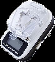 """Универсальное зарядное устройство для аккумуляторов - зарядка """"жабка"""", """"лягушка"""". USB зарядка + сеть"""