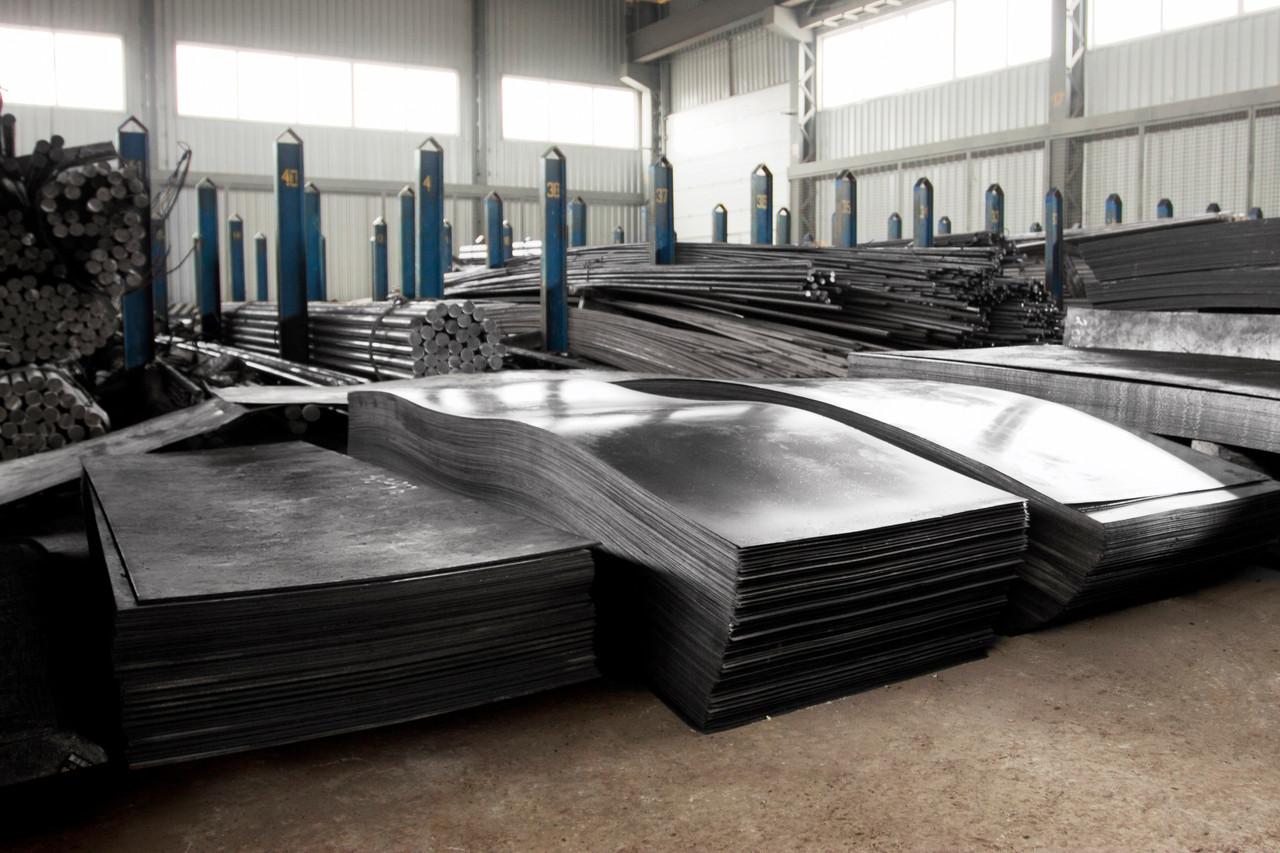 Лист стальной оцинкованный 0,8х1000х2000 мм 08пс