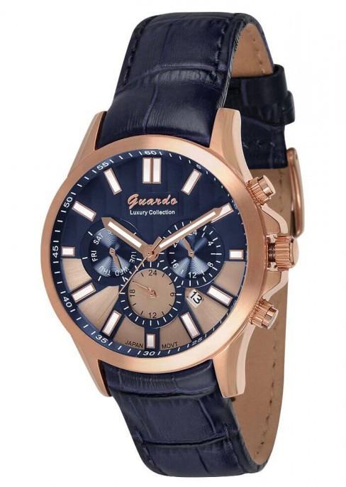 Часы мужские GUARDO S08071 RgBlBl