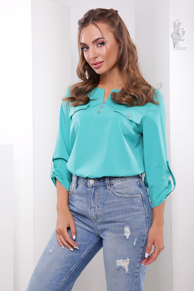 Блуза женская летняя Марси-3 42-50 размеров