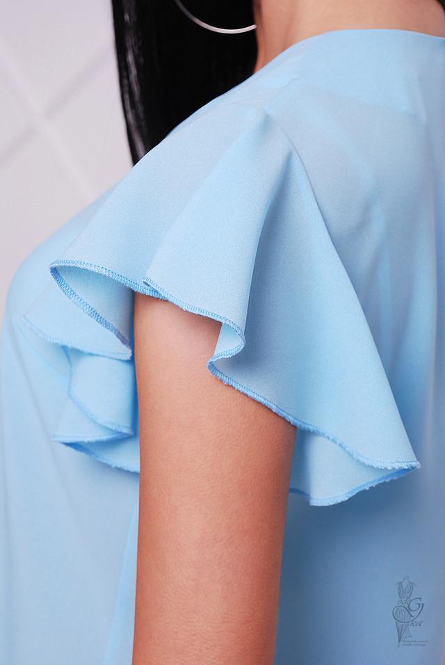 Фото-2 Блузки с коротким рукавом крылышками Флай
