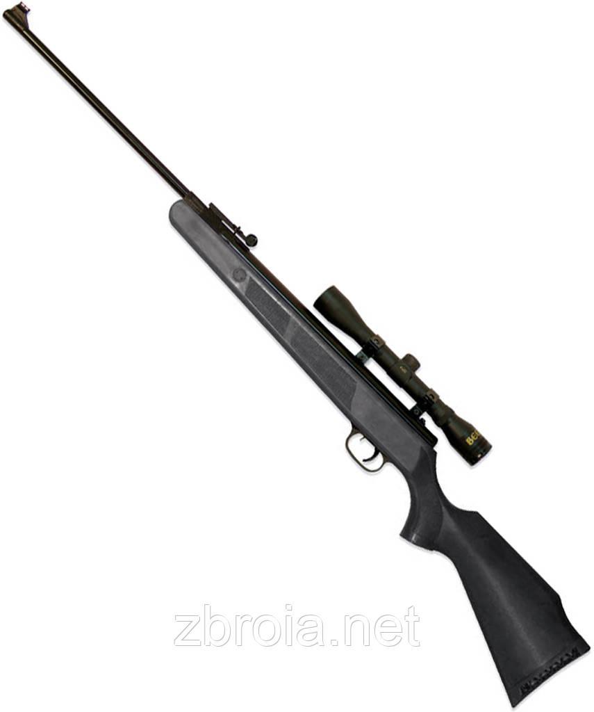 Пневматическая винтовка Beeman Wolverine Gas Ram + Оптический прицел 4х32