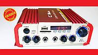 Усилитель звука CM-2047U  USB+SD+AUX+Караоке, фото 1