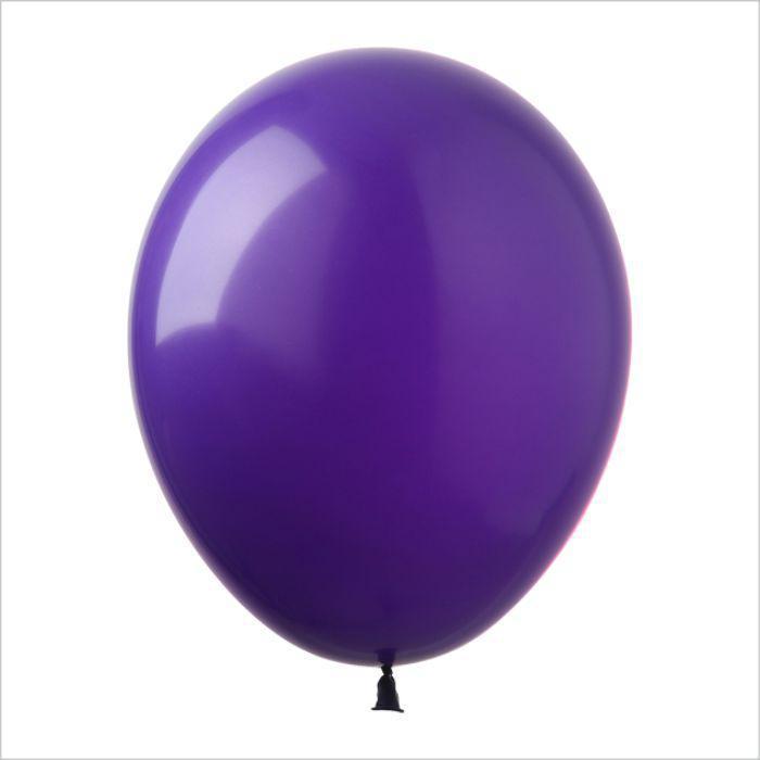 Шары воздушные фиолетовый (латекс) Gemar