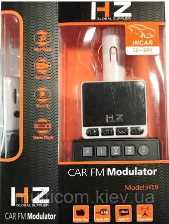 04-04-005. FM модулятор + microSD, H-19