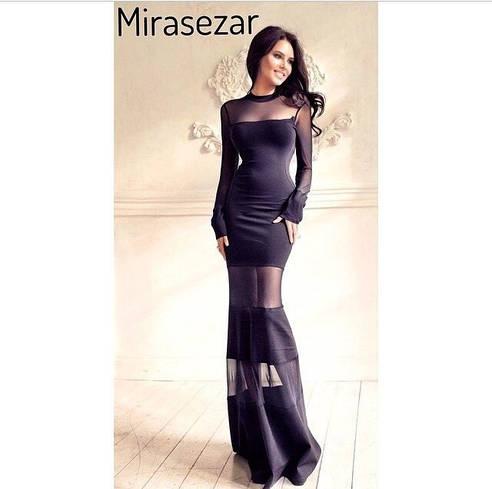 Длинное вечернее платье д236