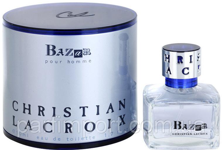 Christian Lacroix Bazar Homme  EDT 50 ml  туалетная вода мужская (оригинал подлинник  Франция)