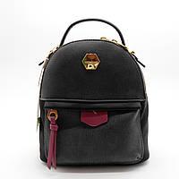 Женский рюкзак-сумка черного цвета OOP-006589