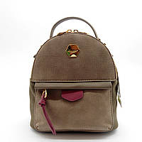 Женский рюкзак-сумка цвета хаки OOP-006582
