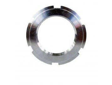 Гайка круглая шлицевая М26х1,5 DIN 1804 из нержавейки, фото 2