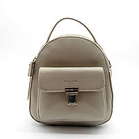 Женский рюкзак David Jones из экокожи серого цвета YEU-531444, фото 1
