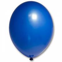 """Воздушные шары 12""""(30 см) Пастель СИНИЙ 012 В упак: 50 шт. Пр-во: Belbal (Бельгия)"""