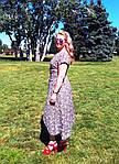 """Плаття в клітку бавовняне літній Пл 073 """"ПОЛУНИЧКА"""" , 48-56, фото 5"""