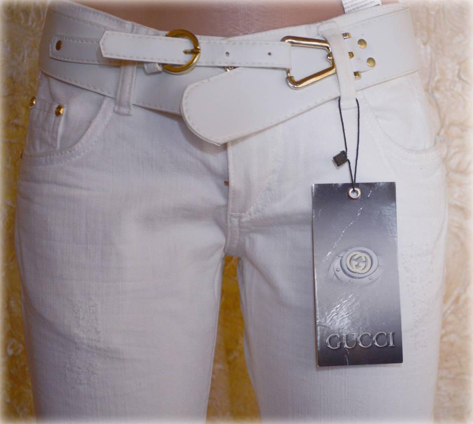 Женские джинсы GUCCI143 (копия), фото 2