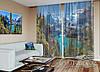 "ФотоТюль ""Летний вид на озеро в Альпах"" (2,5м*1,50м, карниз 1м)"