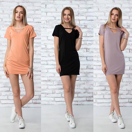 "Платье летнее ""Жаклин"" - 3 цвета, фото 2"