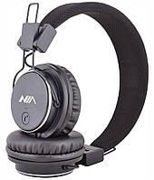 Наушники беспроводные Bluetooth NIA X3 Grey