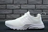 Кроссовки женские белые сетка летние Nike Air Presto Найк Эйр Престо