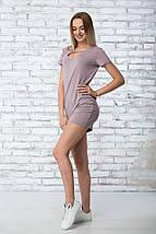 """Платье летнее """"Жаклин"""" - цвет капучино, фото 2"""