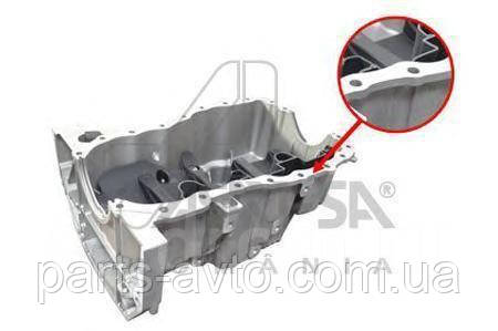 Картер (масляный поддон) 1.6 16V MPI Renault Fluence (ASAM 30485)