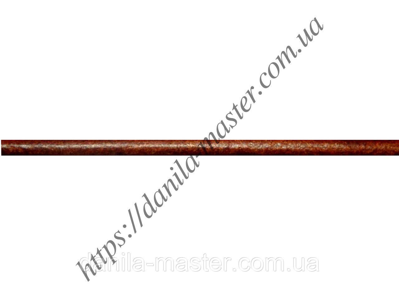 Шнур шкіряний коричневий (d=2,0 мм)