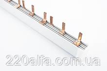 Шина з'єднувальна (гребінка) SCHNEIDER 3P, 12 модулів
