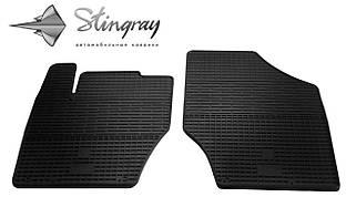 Citroen C4  2011- Комплект из 2-х ковриков Черный в салон