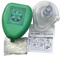 Безконтактная маска для искуственного дыхания с аксесуарами.