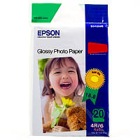 ✖Фотобумага глянцевая Еpson PG 230 g / m2 10 х15 20 л для принтера Canon Epson HP для струйной печати