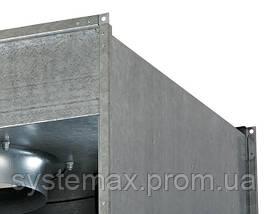 ВЕНТС ВКПФ 4Д 600х350 (VENTS VKPF 4D 600x350) - вентилятор канальный прямоугольный , фото 3