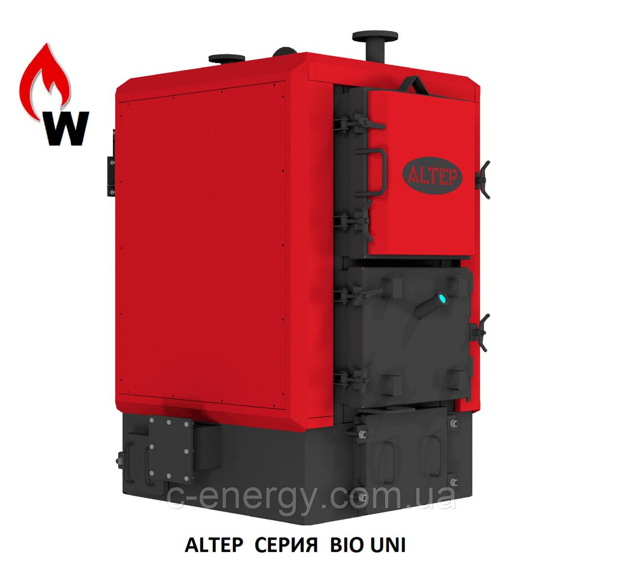 Котел Альтеп  BIO UNI 300 кВт (биомасса, щепа), фото 1