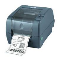 Компактный настольный принтер печати штрих-кодов tsc ttp 247, фото 1