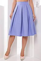 Женская юбка миди Люкс-1 пышная из Габардина