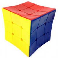 Кубик Рубика 3х3 цветной вогнутый HeShu, фото 1