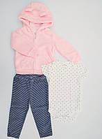Детский костюм из 3-х вещей Carters для девочки